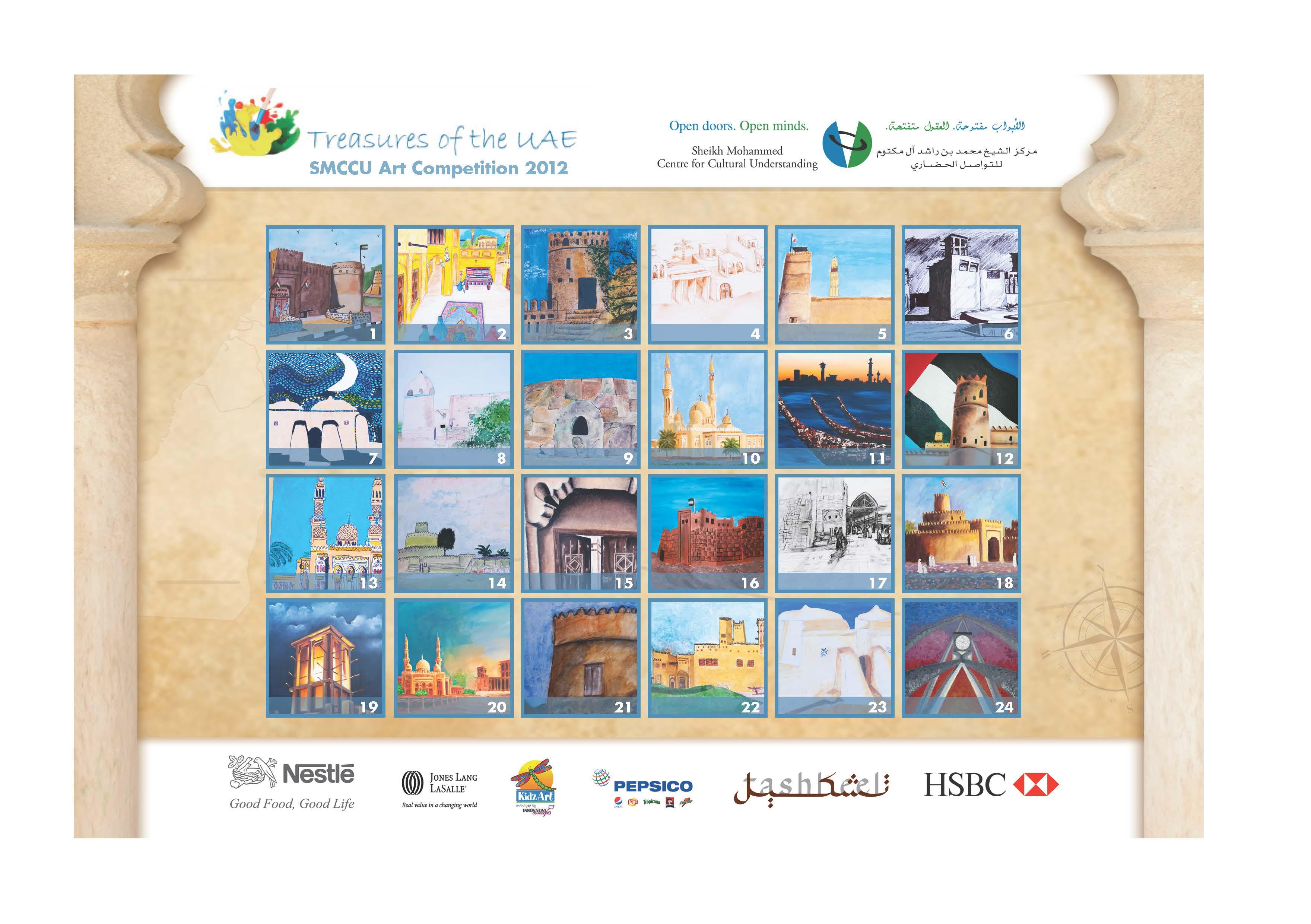 Weekly Calendar Uae : Treasures of the uae calendars sheikh mohammed