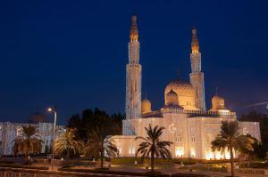 Jumeirah Mosque Eid