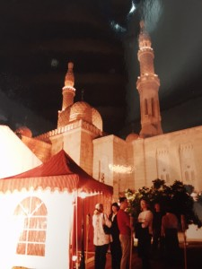 Ramadan Tent 1999 at the Jumeirah Mosque